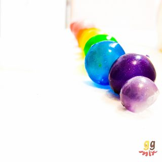 RAINBOW GELATIN BUBBLES