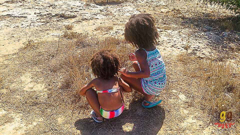 THE DRY CLIFFS OF MALAMA BEACH CYPRUS