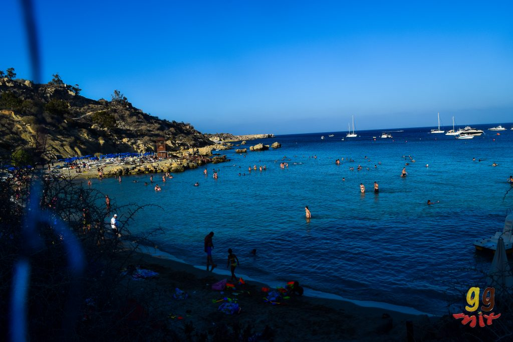 VIEW OF KNOSSOS BAY AT SUNSET