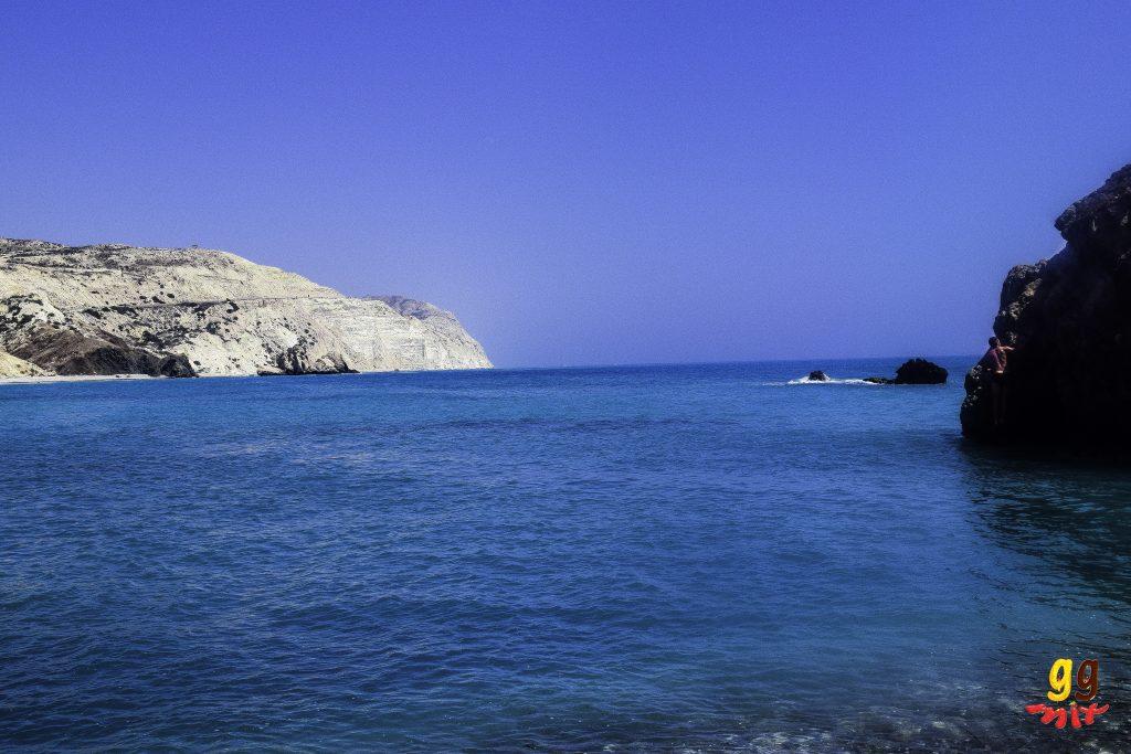 PETRA TOU ROMIOU - APHRODITE'S ROCK BEACH IN CYPRUS
