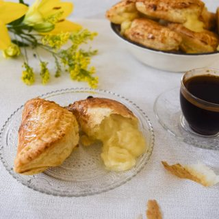 BOUGATSA GREEK SEMOLINA CUSTARD PIE