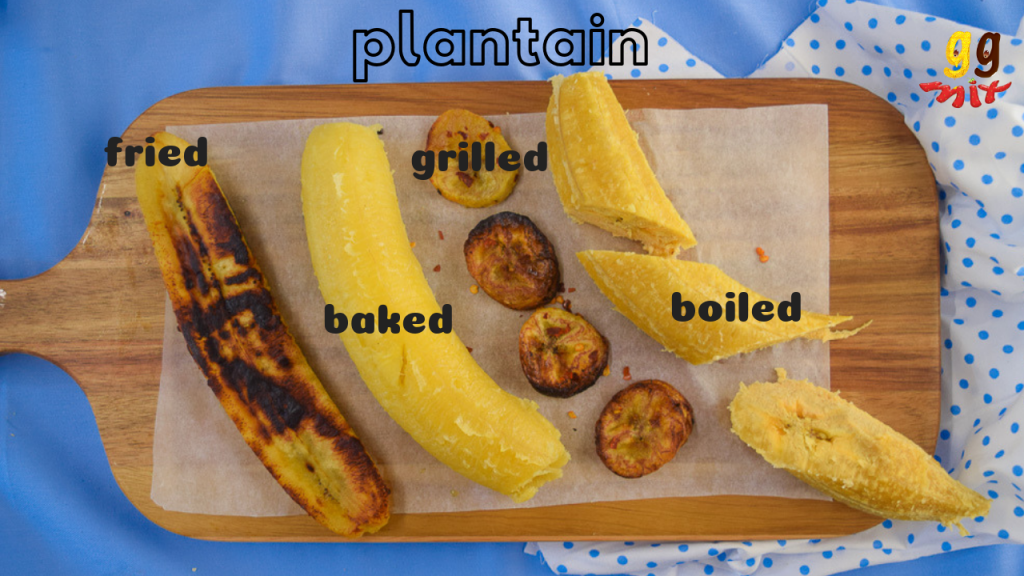 Plantain Bake Boil Grill Fry Ggmix