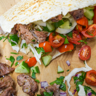 GREEK PORK SOUVLAKI