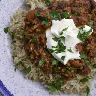 CHILLI CON CARNE WITH CHOCOLATE IN 30 MINUTES